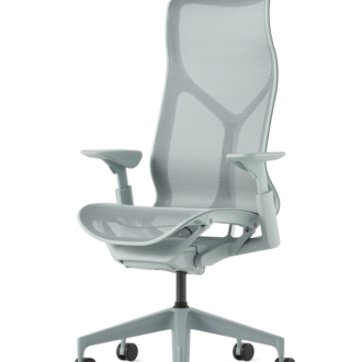Cosm Chair, DIC, Glacier, high back