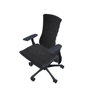 Embody Chair, Graphite, Medley